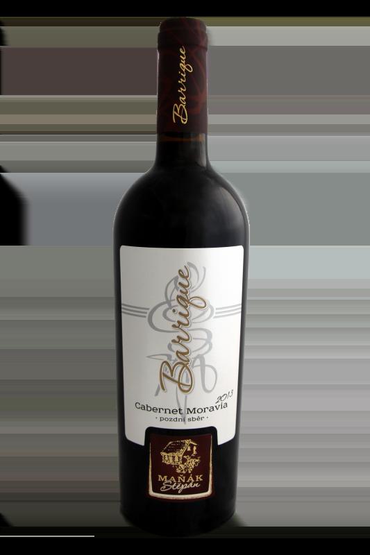 Vinařství Štěpán Maňák - Cabernet Moravia barrique - Pozdní sběr 2013 - 0,75l