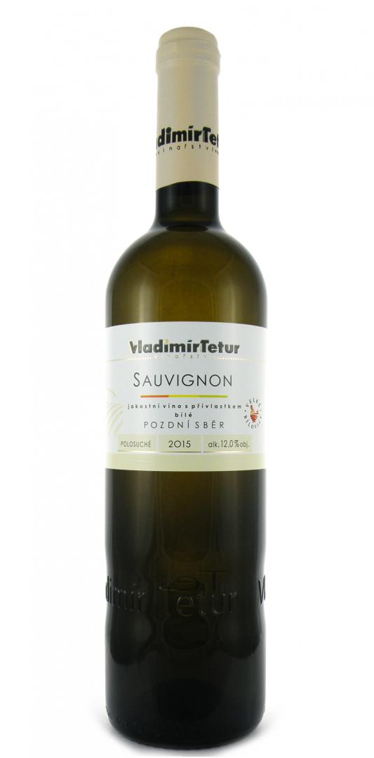 Vinařství Vladimír Tetur - Sauvignon - Pozdní sběr 2015 - 0,75l