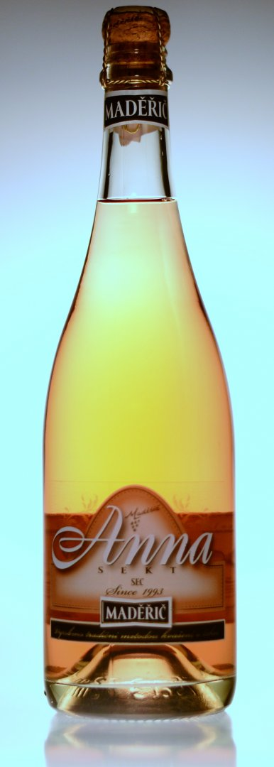 Vinařství Maděřič - Sekt Anna - rosé - Jakostní šumivé víno - sekt 2013 - 0,75l (balení 6 lahví)