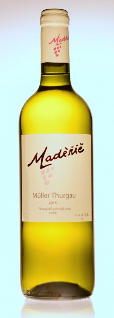 Vinařství Maděřič - Müller Thurgau - Zemské víno 2015 - 0,75l