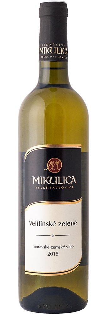 Vinařství Mikulica - Veltlínské zelené - Zemské víno 2015 - 0,75l