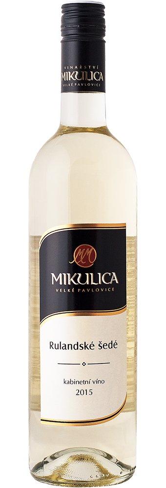 Vinařství Mikulica - Rulandské šedé - Kabinetní víno 2015 - 0,75l