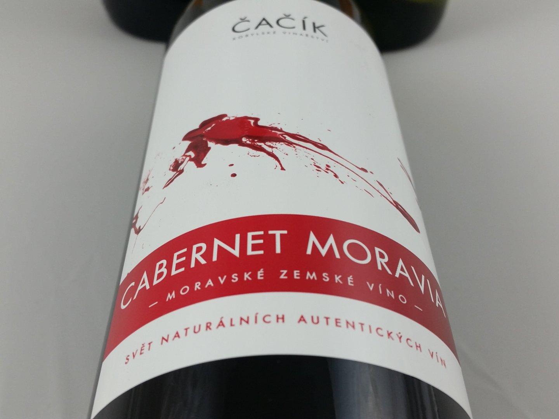 Kobylské vinařství Čačík - Cabernet Moravia - Zemské víno 2014 - 0,75l