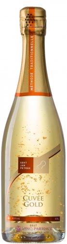 Sekt Jan Petrák - Cuvée Gold brut - Jakostní šumivé víno - sekt - 0,75l (balení 6 lahví)