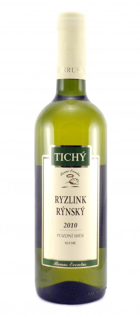 VINO RICHARD - Ing. Richard Tichý - Ryzlink rýnský - Pozdní sběr 2010 - 0,75l (balení 6 lahví)