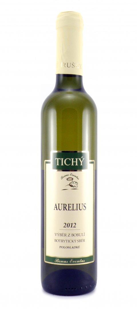 VINO RICHARD - Ing. Richard Tichý - Aurelius - Výběr z bobulí 2012 - 0,5l (balení 6 lahví)