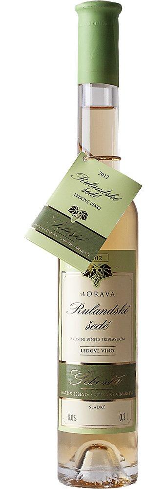 Vinařství Šebesta - Rulandské šedé - Ledové víno 2012 - 0,2l (balení 6 lahví)