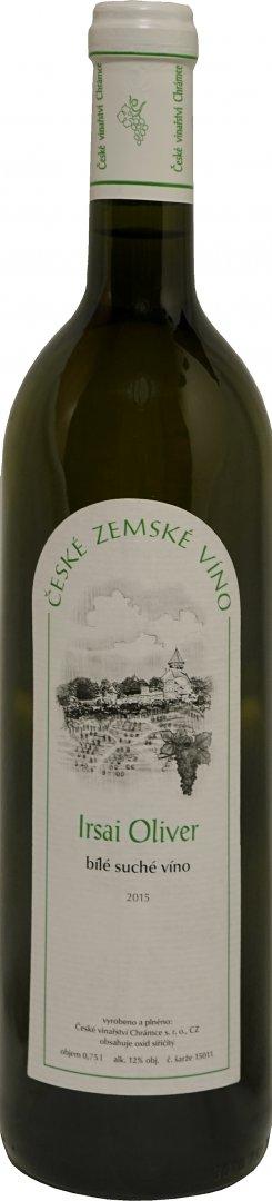 České vinařství Chrámce - Irsai Oliver - Zemské víno 2015 - 0,75l