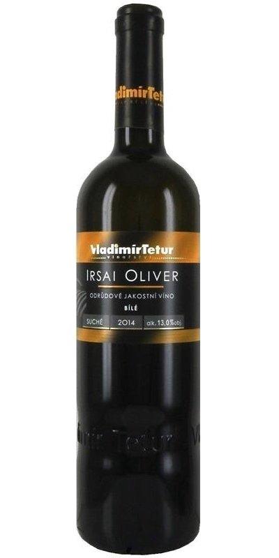 Vinařství Vladimír Tetur - Irsai Oliver - Jakostní víno 2014 - 0,75l