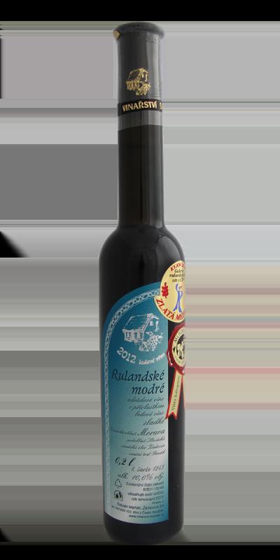 Vinařství Štěpán Maňák - Rulandské modré - Ledové víno 2012 - 0,2l
