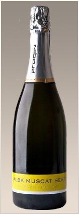 PROQIN - ALBA Mini Spiritus Vini - Aromatické šumivé víno - 0,75l (balení 6 lahví)