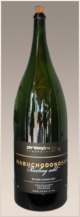 PROQIN - NABUCHODONOSOR Riesling Sekt - Šumivé víno stanovené oblasti (sekt s.o.) - 15l (balení 6 lahví)