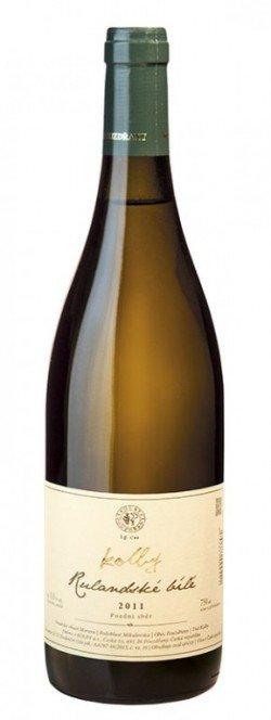Kolby - Rulandské bílé - Pozdní sběr 2011 - 0,75l